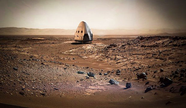 Musk Envisions Wagon Train to Mars