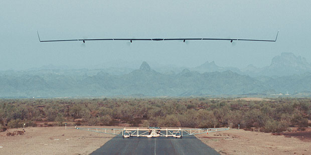 Facebook Carried-out The First Full-scale Test Flight of Aquila