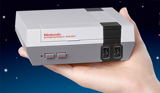 Nintendo's NES Classic Targets Gaming Geezers
