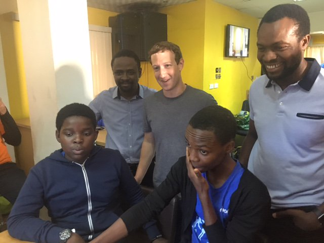 Facebook founder Mark Zuckerberg visits Nigeria in first trip to Africa