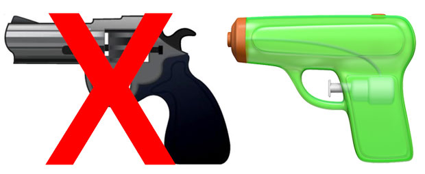 Apple's Switch to Squirt Gun Emoji Triggers Flood of Emotions